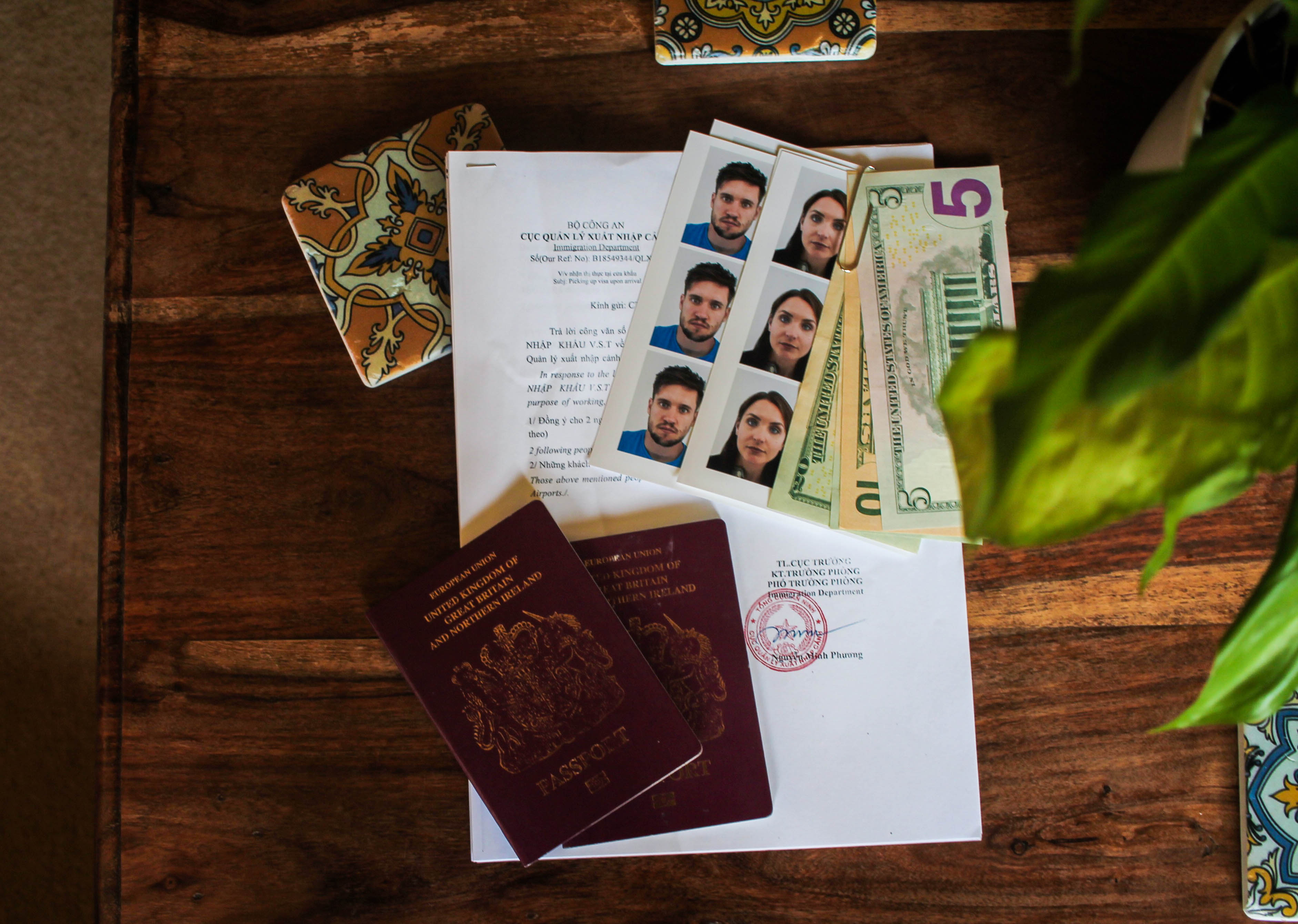 Documents that are required to obtain a Visa in Vietnam