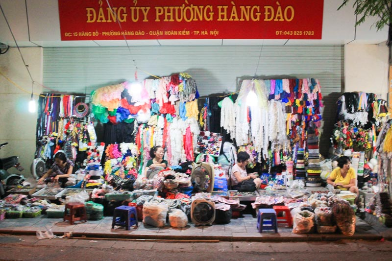 Street Sellers in Hanoi