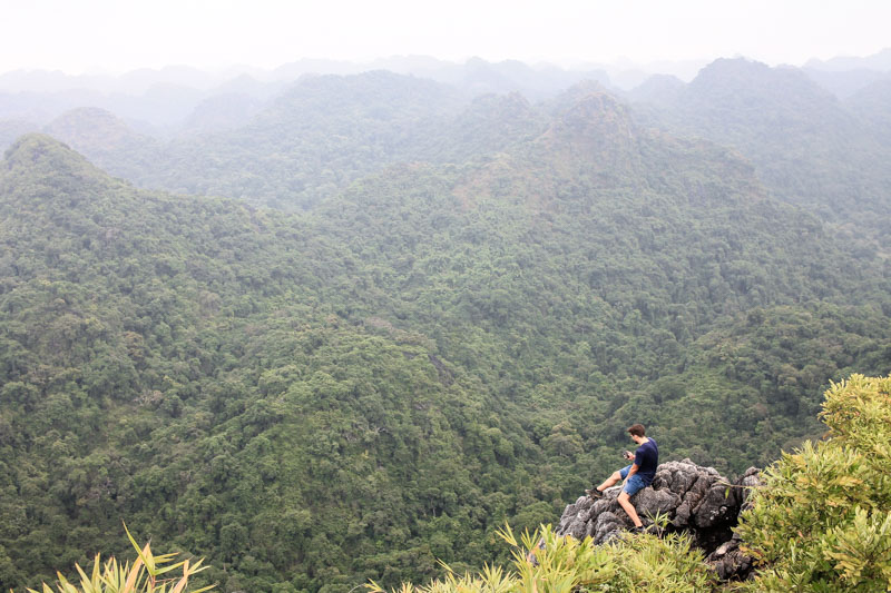 View Point in Cat Ba National Park