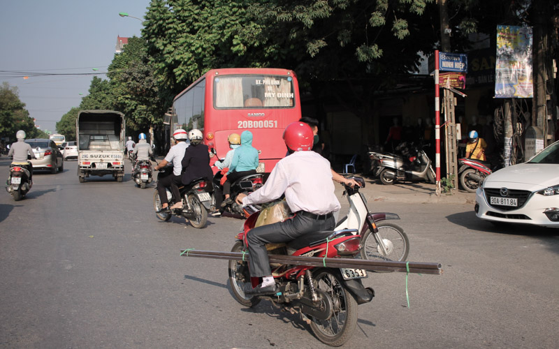 Junction in Hanoi