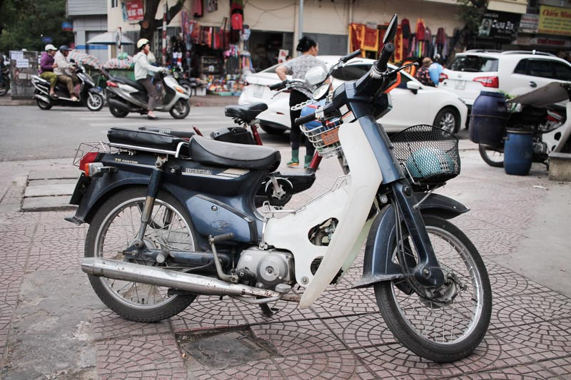 Honda Super Cub, Retro Bike